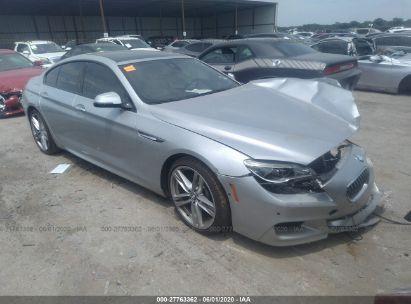 2016 BMW 640 I/GRAN COUPE