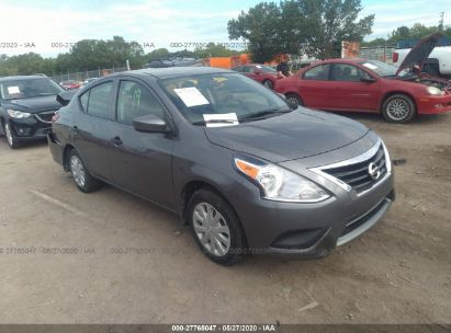 2018 NISSAN VERSA SEDAN S/S PLUS/SV/SL