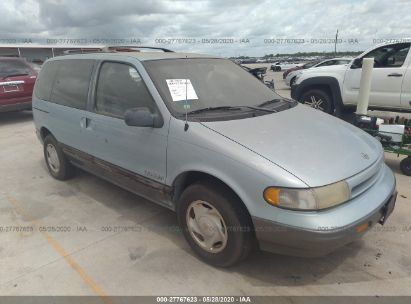 1993 NISSAN QUEST GXE/XE/BASE
