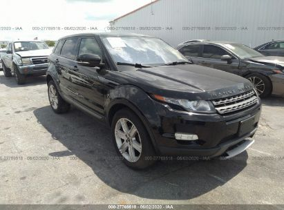 2012 LAND ROVER RANGE ROVER EVOQU PURE PLUS