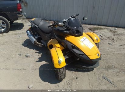 2010 CAN-AM SPYDER ROADSTER RS-S