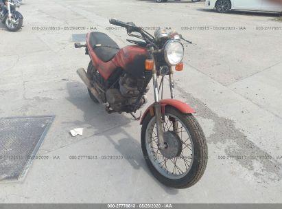 1991 HONDA CB250