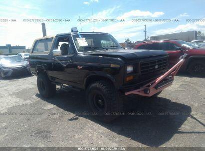 1986 FORD BRONCO U100