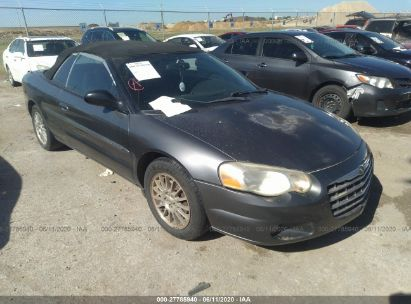 2005 CHRYSLER SEBRING CONV TOURING