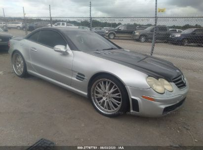 2003 MERCEDES-BENZ SL 500R