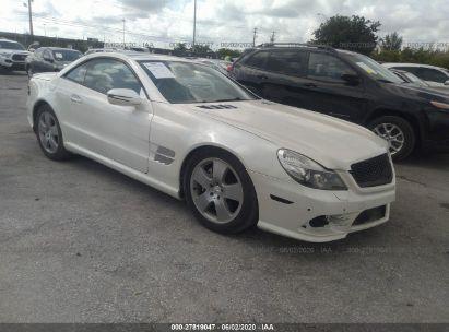 2011 MERCEDES-BENZ SL 550