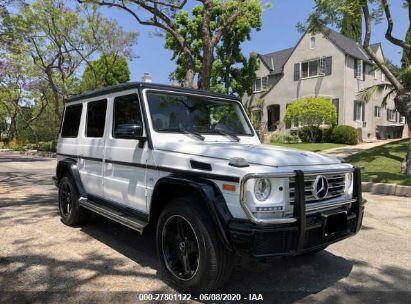 2017 MERCEDES-BENZ G 550
