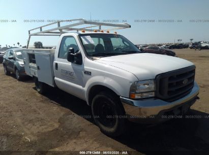 2004 FORD F350 SRW SUPER DUTY