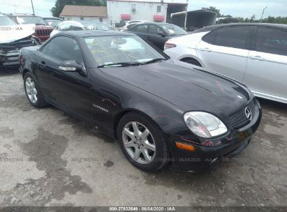 2002 MERCEDES-BENZ SLK 230 KOMPRESSOR