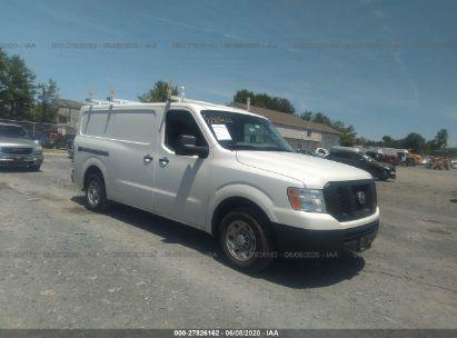 2018 NISSAN NV CARGO 1500 S/SV/2500 S/SV/SL
