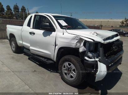 2018 TOYOTA TUNDRA 2WD DOUBLE CAB SR/SR5