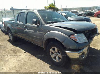 2009 NISSAN FRONTIER CREW CAB SE/CREW CAB LE