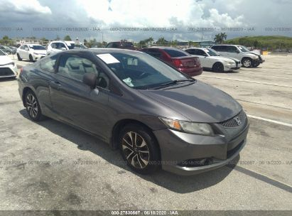 2013 HONDA CIVIC CPE EXL
