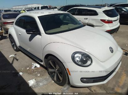 2013 VOLKSWAGEN BEETLE COUPE TURBO