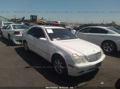 2002 MERCEDES-BENZ C 240