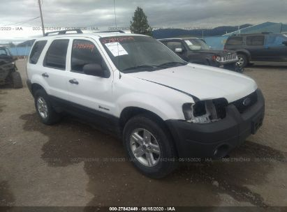 2007 FORD ESCAPE HEV