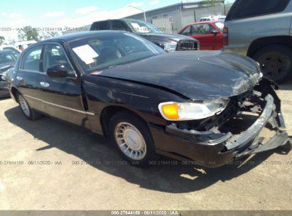 2001 LINCOLN TOWN CAR EXECUTIVE