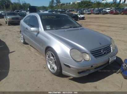 2003 MERCEDES-BENZ C 230K SPORT COUPE