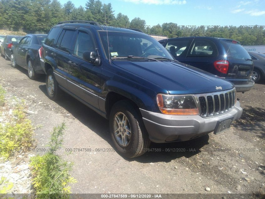 2002 jeep grand cherokee laredo for auction iaa iaa