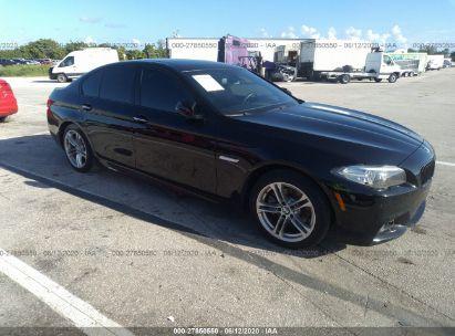 2015 BMW 5 SERIES I