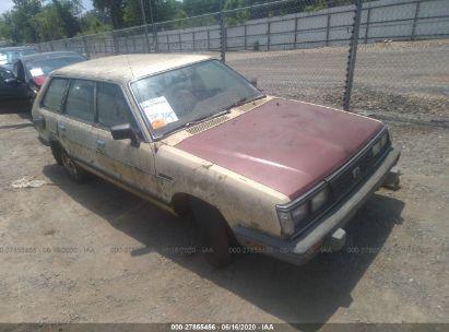 1984 SUBARU GL 4WD
