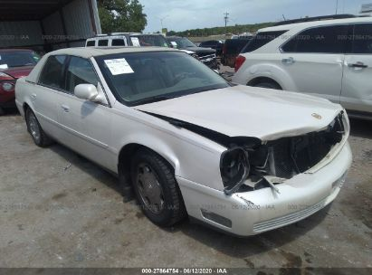 2002 cadillac deville dhs for auction iaa iaa