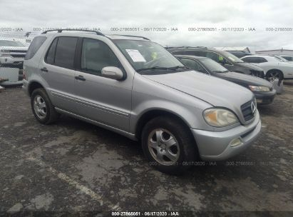 2002 MERCEDES-BENZ ML 320