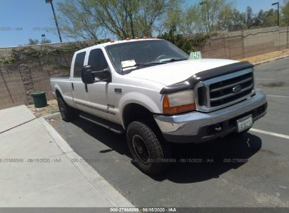 1999 FORD F350 SRW SUPER DUTY