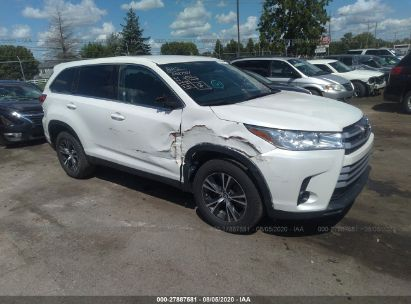 2019 TOYOTA HIGHLANDER LE/LE PLUS