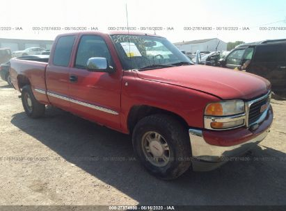 2001 GMC NEW SIERRA K1500