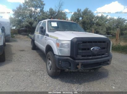 2011 FORD SUPER DUTY F-350 SRW XL/XLT/LARIAT