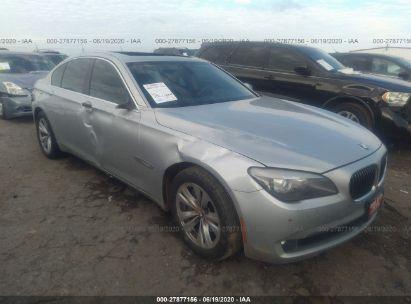 2012 BMW 740 I