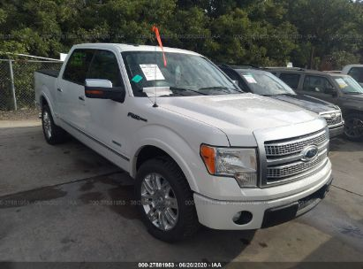 2011 FORD F150 SUPERCREW