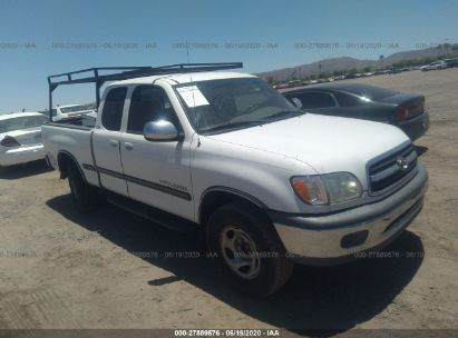 2002 TOYOTA TUNDRA ACCESS CAB SR5