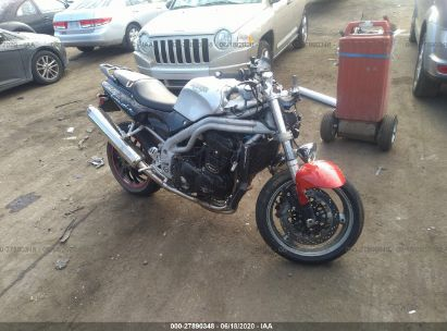 2001 TRIUMPH MOTORCYCLE SPEED TRIPLE