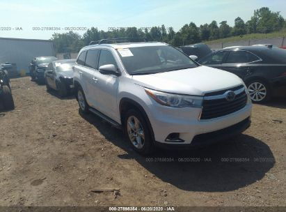 2015 TOYOTA HIGHLANDER LIMITED/LTD PLATINUM