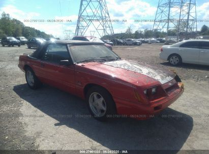 1985 FORD MUSTANG LX/GT