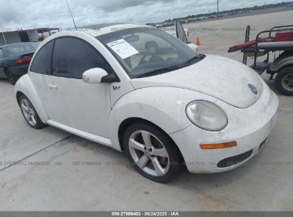 2008 VOLKSWAGEN NEW BEETLE COUPE TRIPLE WHITE