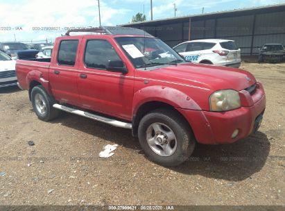 2001 NISSAN FRONTIER CREW CAB XE/CREW CAB SE