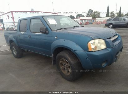 2004 NISSAN FRONTIER CREW CAB XE V6