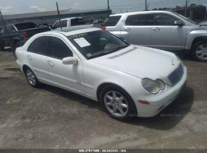 2003 MERCEDES-BENZ C 240