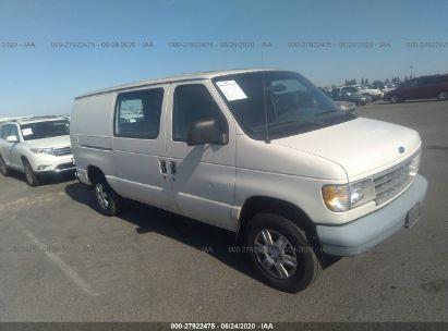 1996 FORD ECONOLINE E250 VAN