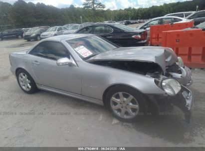 2003 MERCEDES-BENZ SLK 230 KOMPRESSOR