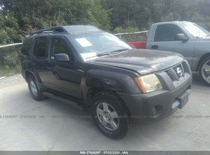 2007 NISSAN XTERRA OFF ROAD/S/SE