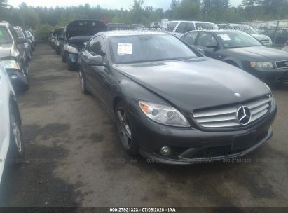 2010 MERCEDES-BENZ CL 550 4MATIC