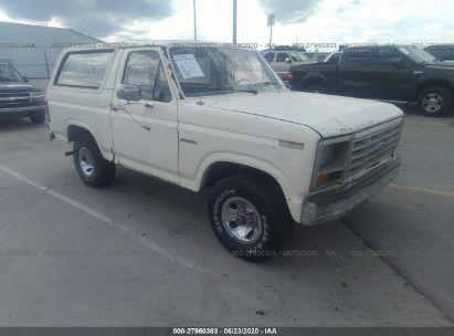 1983 FORD BRONCO U100