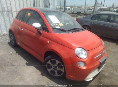 2013 FIAT 500E BATTERY ELECTRIC ELECTRIC