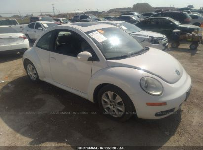 2009 VOLKSWAGEN NEW BEETLE COUPE S/SE