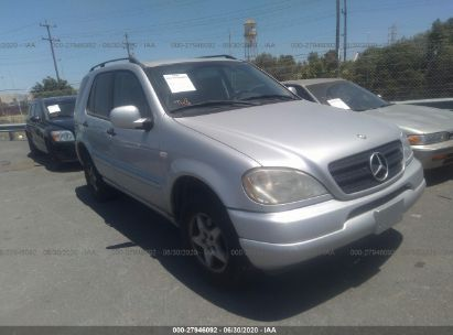 2000 MERCEDES-BENZ ML