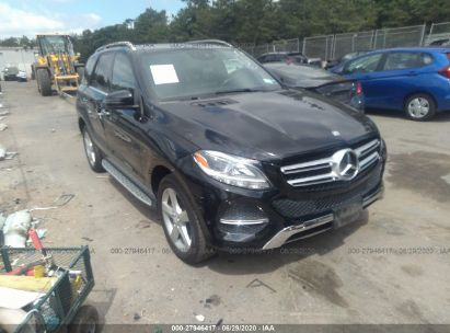2016 MERCEDES-BENZ GLE 350 4MATIC